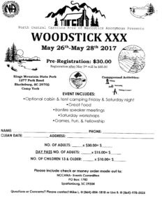 Woodstick XXX @ Kings Mountain State Park - Camp York