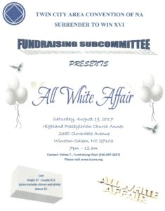 Twin City Area Convention Fundraiser @ Highland Presbyterian Church Annex