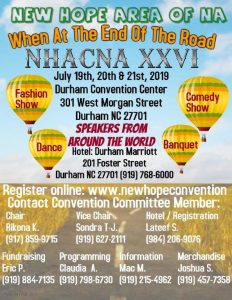 NHACNA -When at the end of the road XXVI Convention @ Durham Marriott City Center