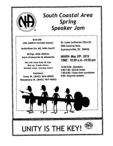 South Coastal Area Spring Speaker Jam @ St. Luke Lutheran Church