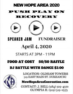 New Hope Area 2020 Speaker Jam Fundraiser @ OLDHAM TOWERS