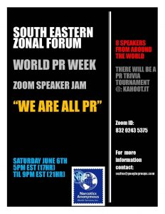 Southeast Zonal Forum - World PR Week SPEAKER JAM @ Virtual event