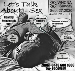 Let's Talk About Sex @ Zoom room