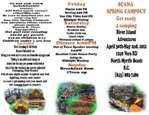 SCANA  Suncity Annual spring Campout @ River Island Adventures