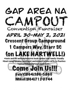 GAPANAC CAMPOUT @ Crescent Group Campground